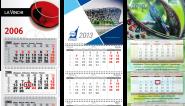 Квартальный календарь на 2019 год.